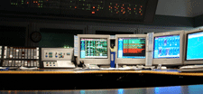 computers in a control room