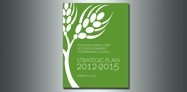 Food and Agriculture Sector Government Coordinating Council Strategic Plan cover
