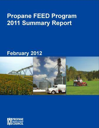 PERC FEED 2011 report cover