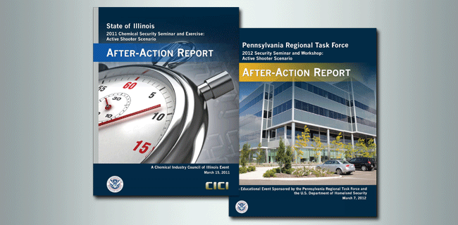 After-Action Report covers