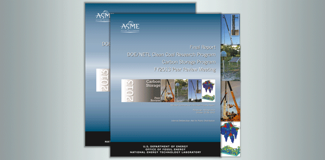 Carbon storage report covers