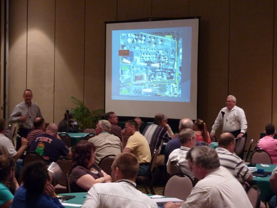 Chemical facilities active shooter tabletop exercise