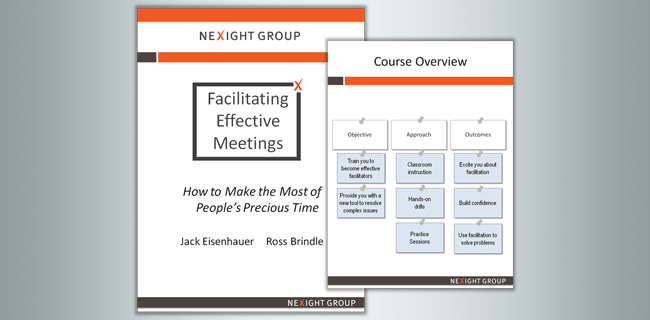 Cover of facilitation training guide