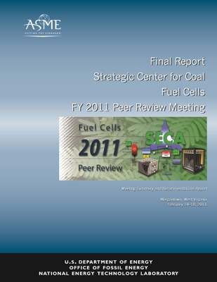 Fuel Cells 2011 Peer Review Meeting Summary and Recommendations Report cover