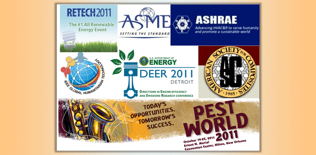 logos of conferences attended for propane challenge