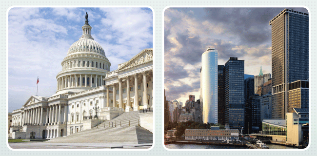 capitol building and city