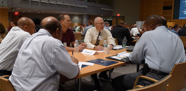 facilitating a tabletop exercise group