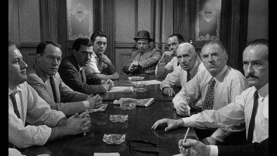 Scene from the movie 12 Angry Men