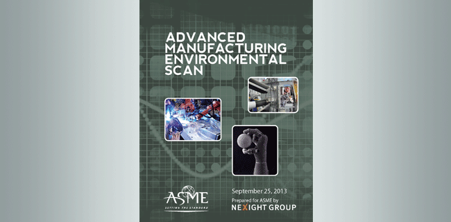 ASME Environmental Scan report cover