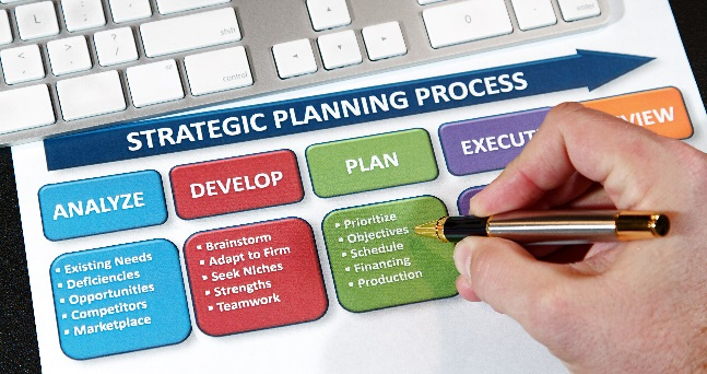 Strategic planning process flow