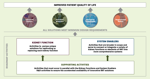 Four solution pathways from the roadmap.