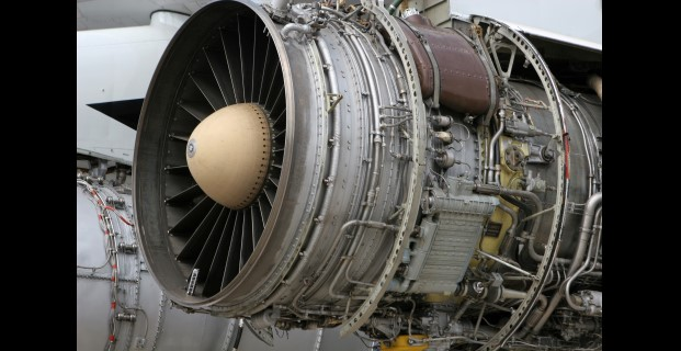 An image of a jet engine.